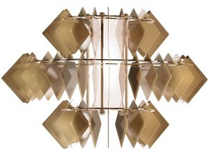 Diamante new applique, Contemporary wall lamp made of steel
