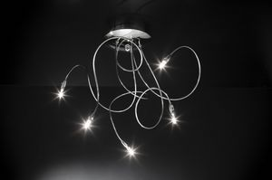 FLEX H MAX 60, Ceiling lamp with flexible arms
