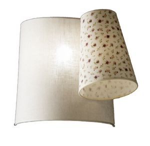 Marg� AP638B, Applique lamp with fabric lampshades