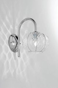 Sfera Rb370-015, Wall lamp with fixed metal arm