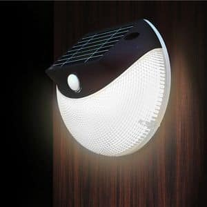 Solar wall lamp LED garden � LM003LED, Solar wall lamp with LEDS, for outdoor