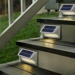 wall lamp solar LED lamp SHARK - LA004LED, Solar wall lamp, easy to install