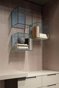 Picture of GLASSBOX, wall-mounted shelves