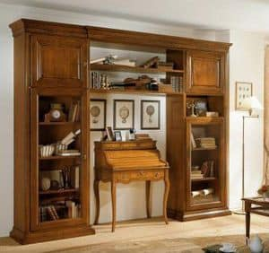 Picture of Art.0744/L, hand worked bookcase