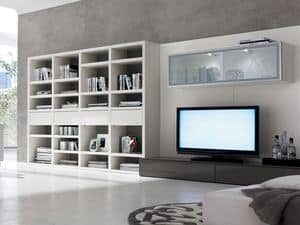 Picture of Basic B926, contemporary bookcase