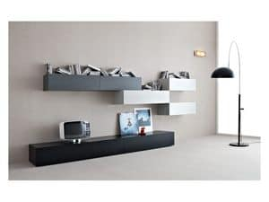 Picture of Box - Volumi 03, storing unit for living room