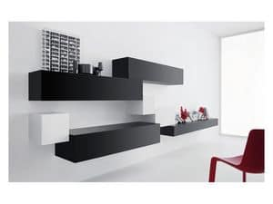 Picture of Box - Volumi 04, cabinets for sitting room