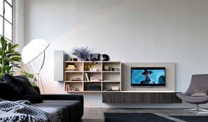 Citylife 01, Modular system for modern living, with LED lights