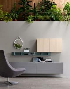 Citylife 05, Furniture system for modern living rooms, customizable