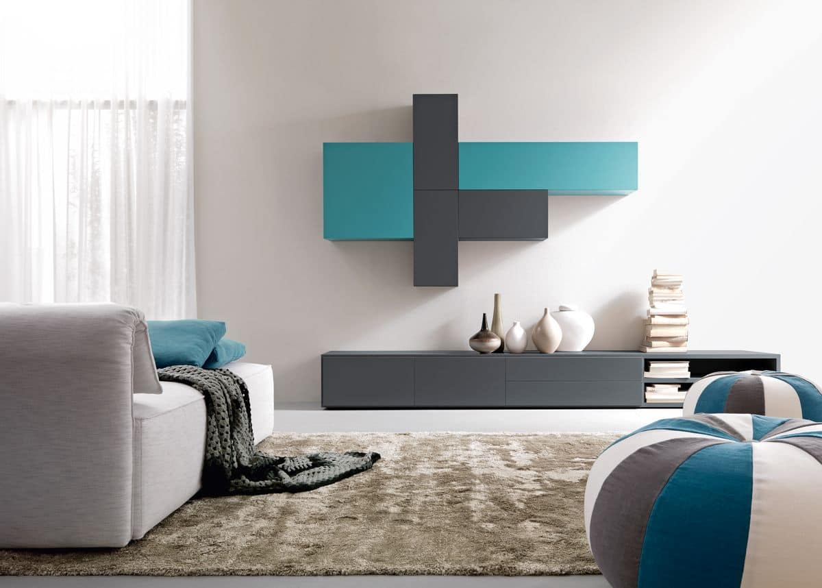 Citylife 45, Composition for living rooms, customizable