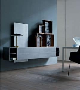 Picture of Contatto comp.04, storing units for living room