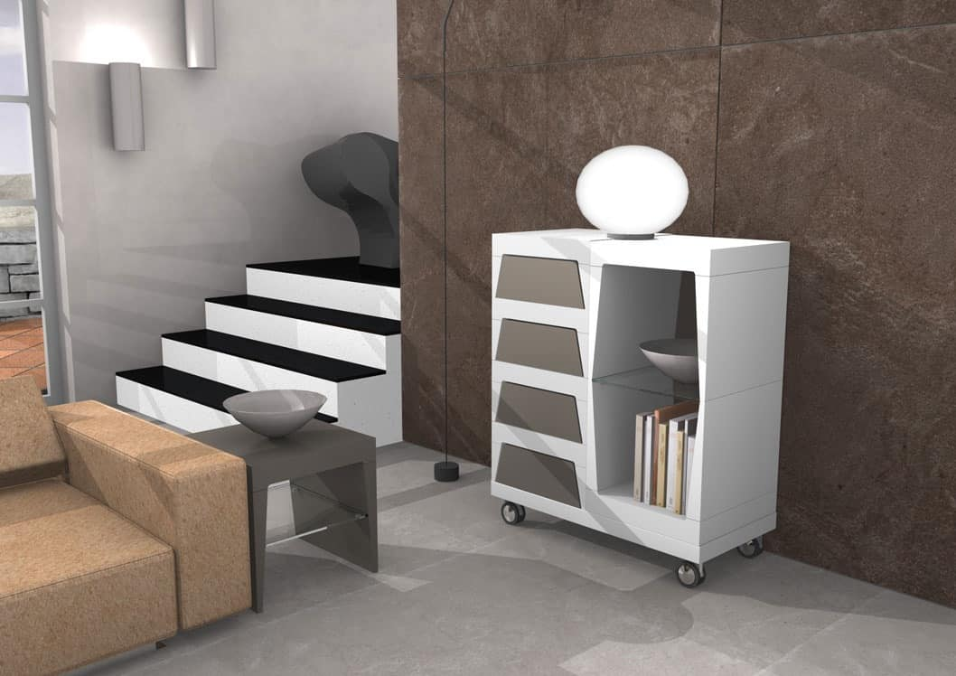 Storage Unit With Wheels For Living Room Idfdesign