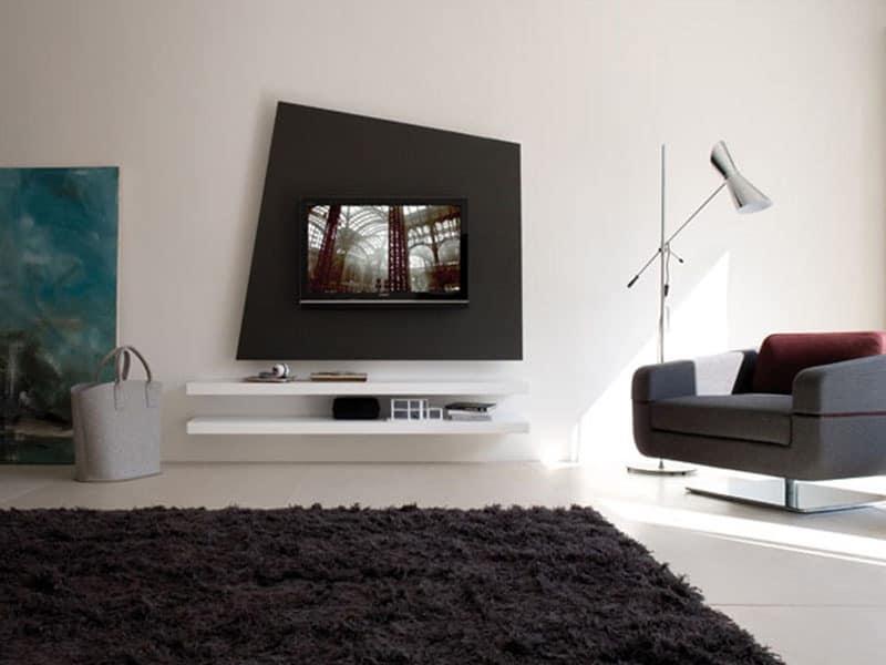 Mensole di vetro per camera da letto : Mensole design camera da letto moderne per la