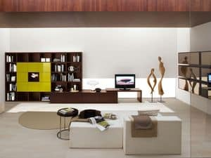 Picture of Max Spalla Comp. 301, cabinets for living room