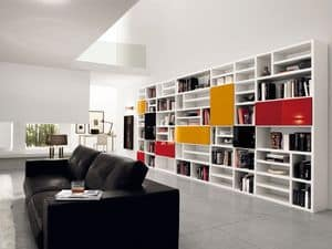 Picture of Max Spalla Comp. 307, linear bookcase