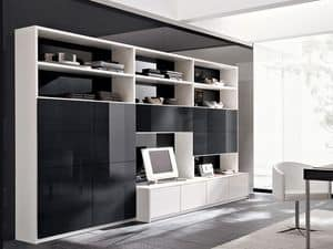 Picture of Mediante M371, elegant bookcases