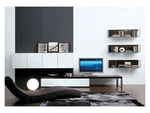 SEVENTY DAY comp.02, Modular storing unit for living room