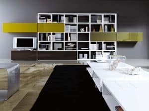 Picture of Shelving System 5, sitting room furniture