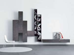 Picture of Spazio Moduli - comp. M124, furniture for living room
