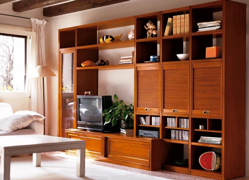 Telaro PC351, Modular furniture for living room, hand-made