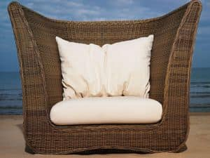 Picture of Classic armchair C5808006, wicker chairs