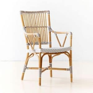 Picture of Marie P, wicker chairs