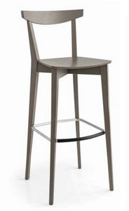Eva-SGA, Contemporary stool in wood