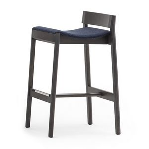 Maki 03782, Stool with upholstered seat, height 75 cm