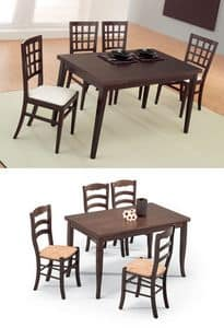 Picture of Dinette G/4720/3, extending wooden tables