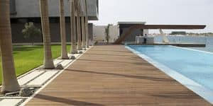 Picture of Berti Havana Decking Iroko, wooden essence floors