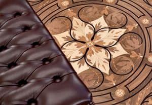 Picture of Berti Inlay Rizzardi model, wooden essence floor