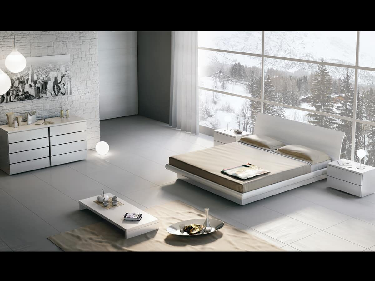 Marvelous photograph of Bed Design 18 Wooden double bed with storage box with #5A5143 color and 1200x900 pixels