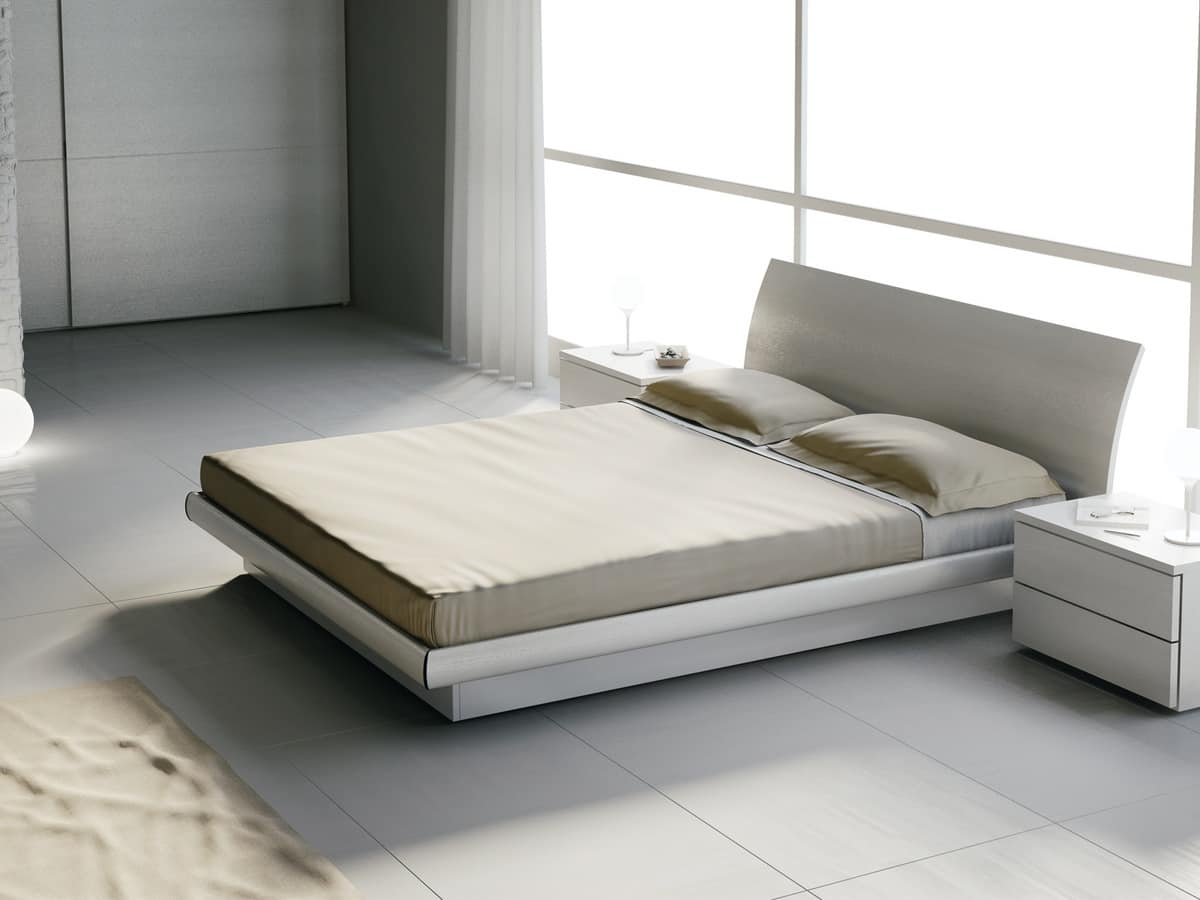Marvelous photograph of Bed Design 18 Bed in natural wood with #594F36 color and 1200x900 pixels