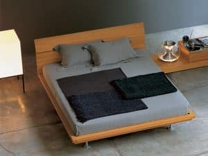 Picture of Karma, bed with wooden frame