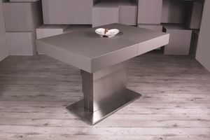 Ares Fold, Dining table adjustable in height and extendable