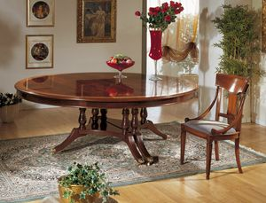 Art. 1233, Dining table that becomes oval once extended
