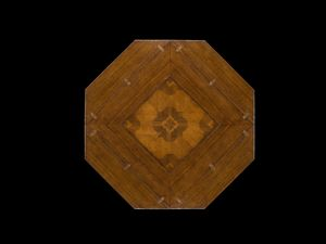 Art. 833 table, Square table that becomes octagonal once extended