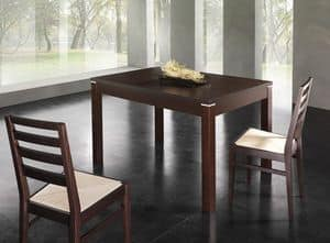 Picture of ASHLI table 8608T, elegant extendable table