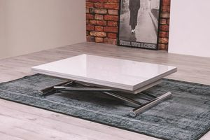 Ciak, Coffee table convertible in dining table