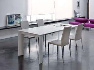 Picture of Lodi, elegant extendable table