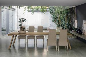 MACISTE 220 TA503, Extendable wooden table