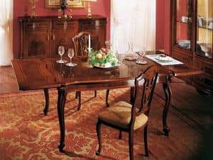 Picture of ROYAL NOCE / Extensible rectangular table, extending table