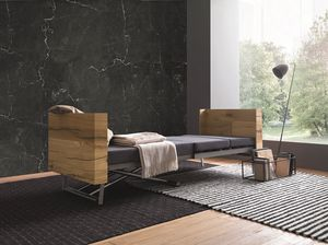 Tavoletto, Coffee table convertible into a bed or a dining table
