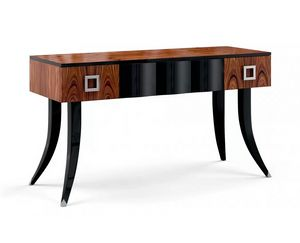 Art. 3009, Wooden writing desk with three drawers