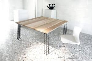 Picture of Eco, table with wooden essence top