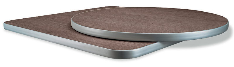 ART. 500, Table tops, in laminate, square and round