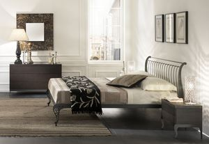 Gi� bed, Iron hand sanded doublebed