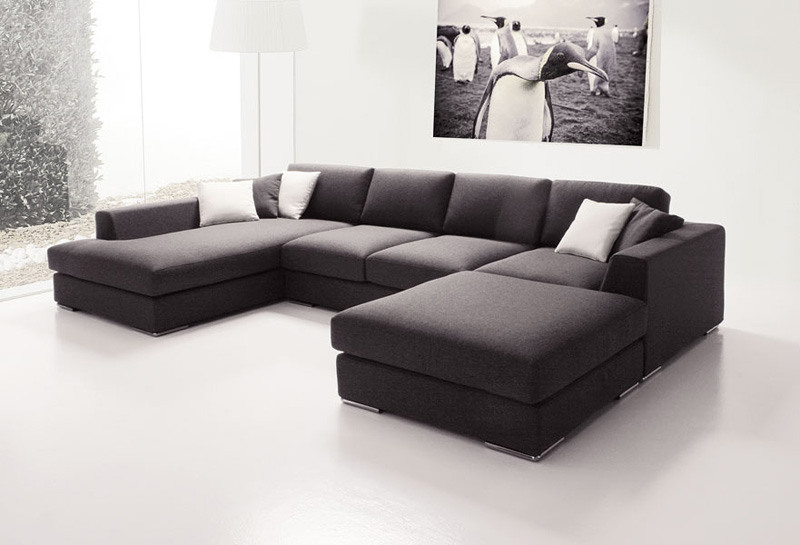 Anic Sofa With Peninsula Modular And Elegant For Living