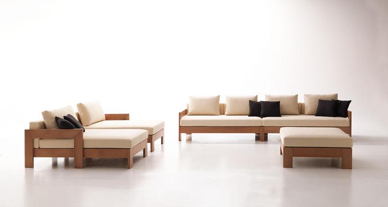 Modular Sofa Minimalist Modern Style For Tavern Idfdesign