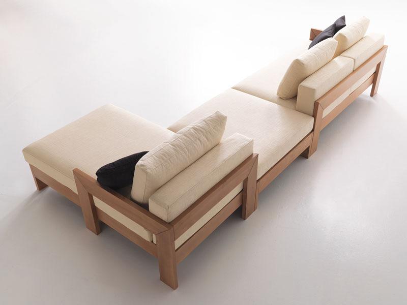 Kuba, Modular sofa minimalist, modern style, for tavern